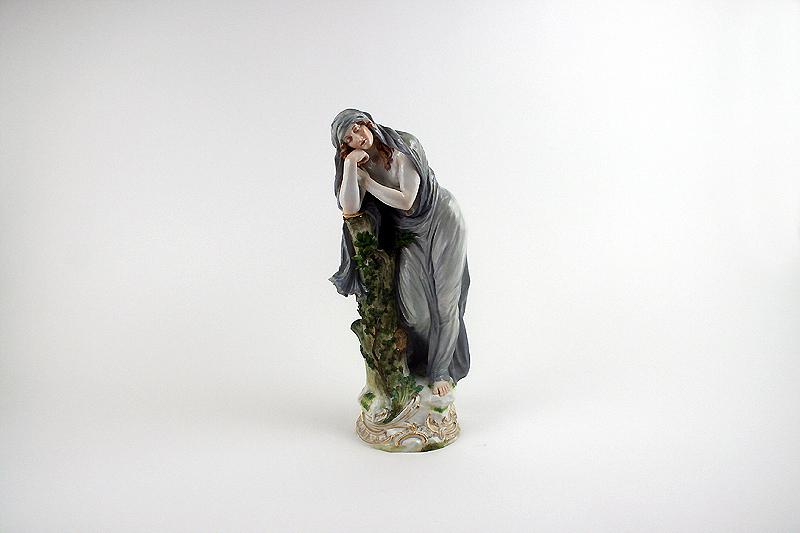 """Meissen Porzellan Figur """"Die Nacht"""" von """"E. Andresen"""""""
