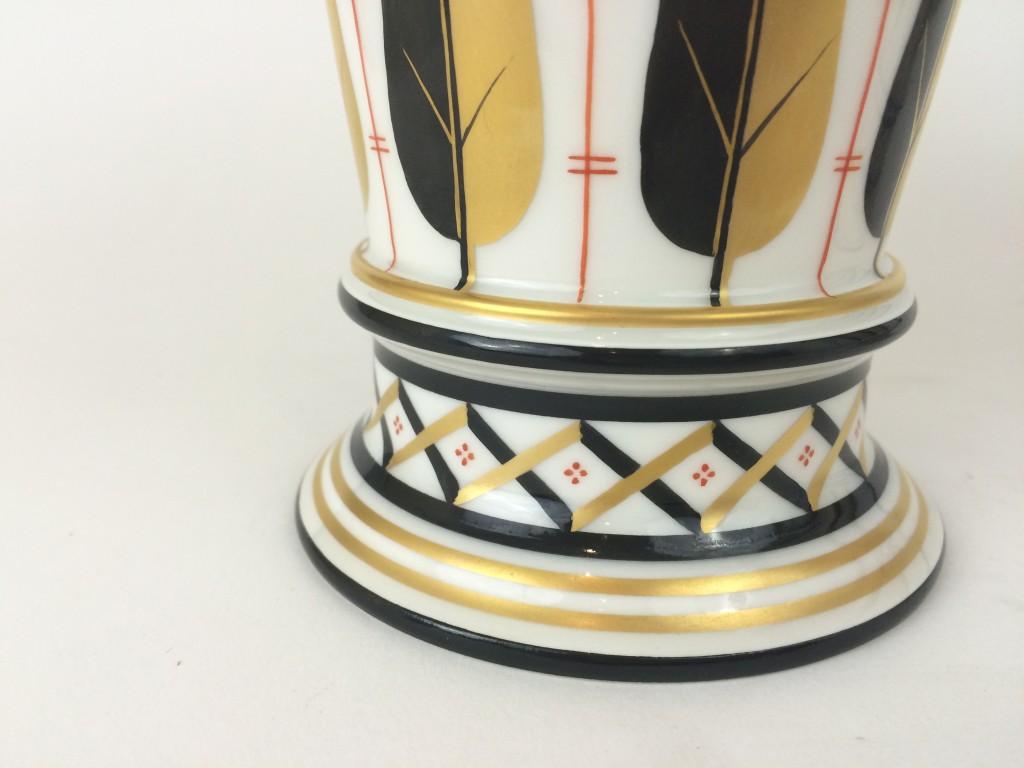 kpm berlin paar trompheten vasen schinkel b hm. Black Bedroom Furniture Sets. Home Design Ideas