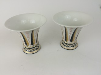 KPM Berlin Porzellan Vase, Schinkelform