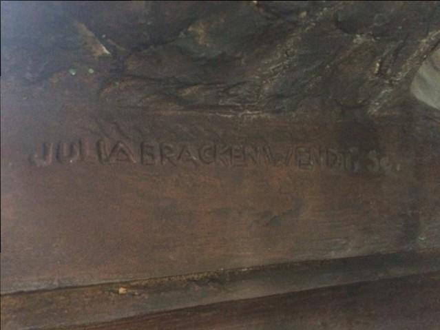 Bronzebueste Julia Bracken-Wendt