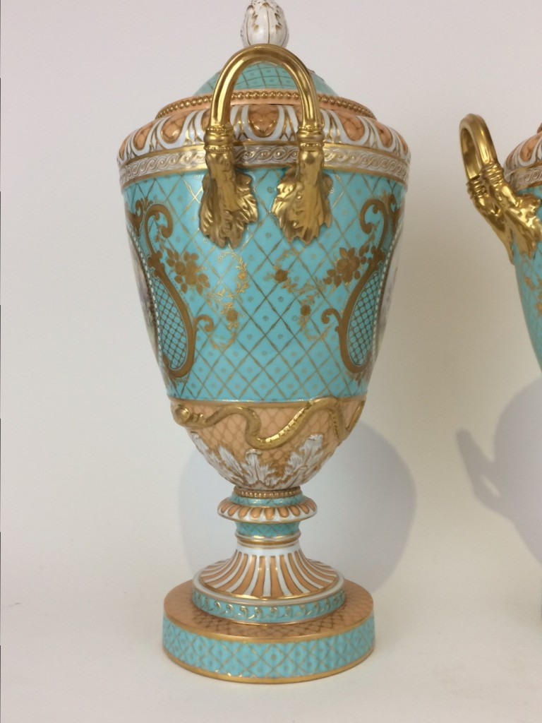 Weimarer Vasen Paar, KPM Berlin, 1785-1800