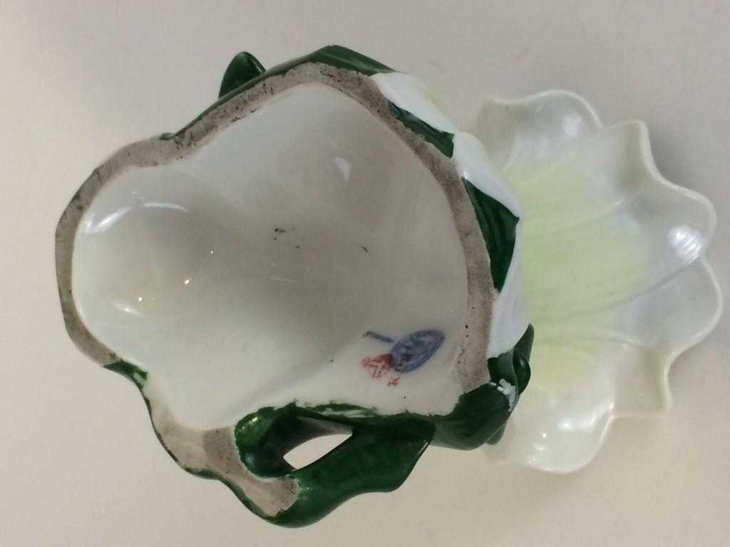 """Ausgesprochen seltene, KPM Berlin Vase """"Lillie"""",1849-70"""