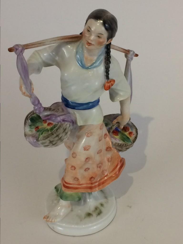 """Jugendstilfigur,""""Koreanerin"""", Meissen 1934-45"""