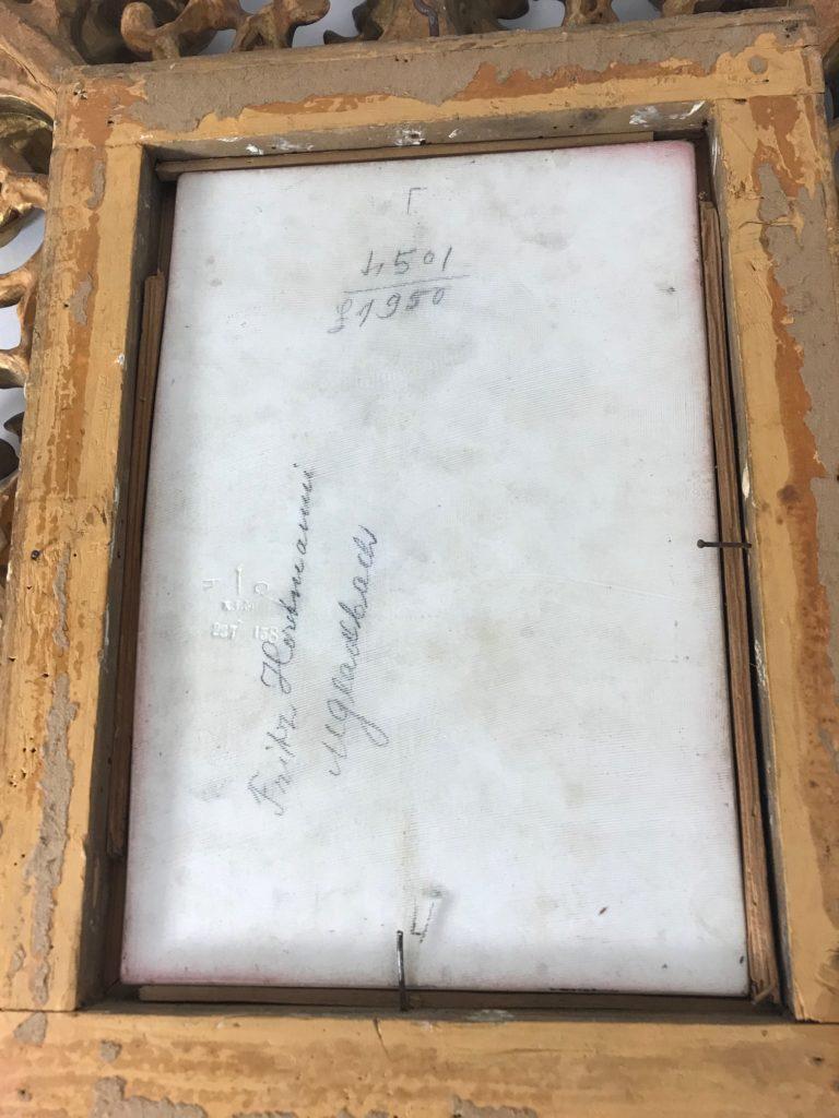 "Porzellan bildplatte KPM Berlin, signiert ""Wagner"""