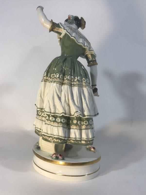 Fanny Elssler, Meissen Figur, Jean Auguste Barre