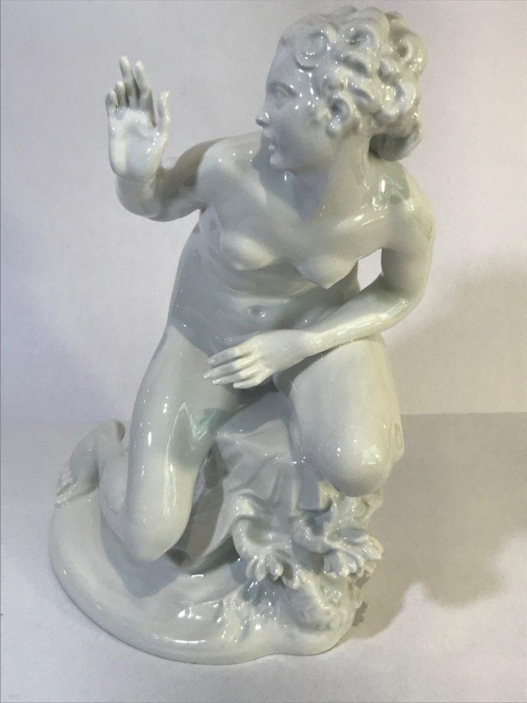"""KPM Berlin, Aktfigur """"Susanna"""", Hermann Hubatsch (1878-1940)"""